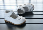 Kid shoes — Stock Photo