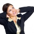Business woman dreaming — Stock Photo #12230294