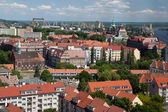 Panorama of Szczecin — Stock Photo