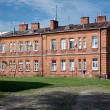 Barracks in Modlin 2 — Stock Photo