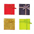 Stock Photo: Gift box collection