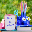 Back to school — Stock Photo #11927601