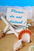 Please,do not disturb — Stock Photo