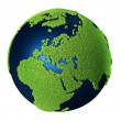 Stock Photo: Grass Earth - Europe