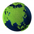 Grass Earth - Asia — Stock Photo