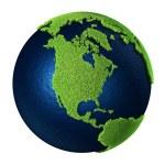 Grass Earth - North America — Stock Photo