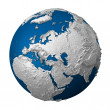 Artificial Earth - Europe — Stock Photo