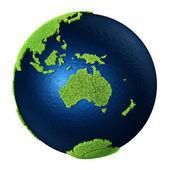 Gräs jorden - Australien — Stockfoto