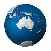 Künstliche erde - australien — Stockfoto