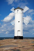 Lighthouse in Swinoujscie — Stock Photo