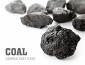 Coal Lumps — Stock Photo