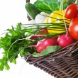 Royalty-Free Stock Photo: Vegetables Basket