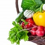 Vegetables Basket — Stock Photo #12034262