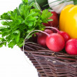 Vegetables Basket - Stock Photo