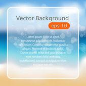 Beach — Vector de stock