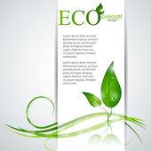 Eco energy — Wektor stockowy