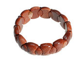 Bracelet from a semiprecious stone — Stock Photo