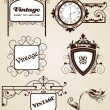 Elegance vintage frames for your text — Stock Vector #11429415