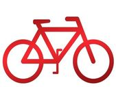 Bicycle Illustration — Stock Photo