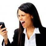 Phone rage — Stock Photo #11444996