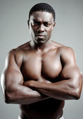 Confident black man — Stock Photo