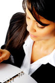 働く女性実業家 — ストック写真