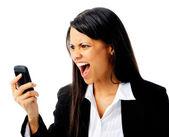 Телефон ярость — Стоковое фото