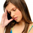 Tension headache — 图库照片