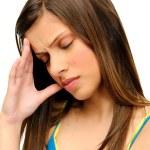 Tension headache — Stock Photo