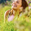 Happy woman outdoor — Stock Photo #11489966