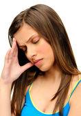 Cefalea tensional — Foto de Stock