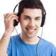 Young man listen music — Stock Photo #11786726