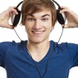 Listen music — Stock Photo #11787035