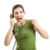 Stress call — Stock Photo