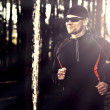Runing in the forest — Stock Photo #12317395