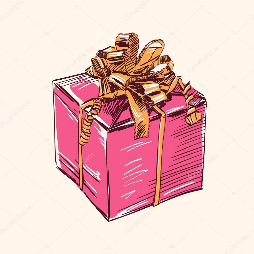 Эскизы упаковки подарка