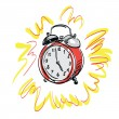 Royalty-Free Stock Vector Image: Alarm clock  vector illustration
