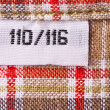 Постер, плакат: Clothing label