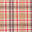 Checker textile background — Stock Photo