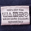 Washing instruction — Stock Photo #10773202