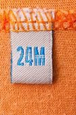 Oranje kleding — Stockfoto