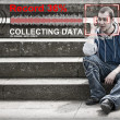Collecting data concept — Stock Photo #11010317
