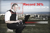 Collecting data concept — Stock Photo