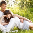 Romantic young couple — Stock Photo #11047430