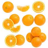 Coleção de laranja — Foto Stock