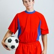 Soccer player — Stock Photo #11408852