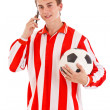Soccer player — Stock Photo #11444222