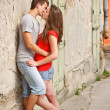 Young couple kissing — Stock Photo #11444383