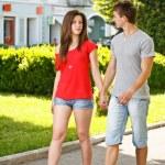 Romantic young couple — Stock Photo #11444390