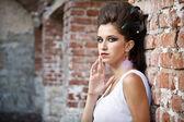 Moda piękny portret — Zdjęcie stockowe